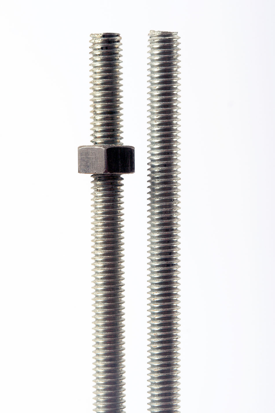 Long screws with a nut
